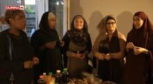 Dernière journée de jeûne avec des femmes converties à l'islam