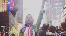 New York: les images de la grande manifestation de soutien aux musulmans