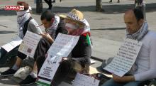 Paris: Des militants en grève de la faim pour soutenir les prisonniers politiques Palestiniens